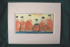 """Maple by Virginia Perry-Unger  - Ready to Frame Print : 11"""" x 14"""""""