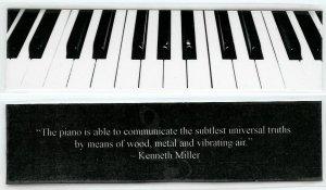 Piano Photography Bookmark #2