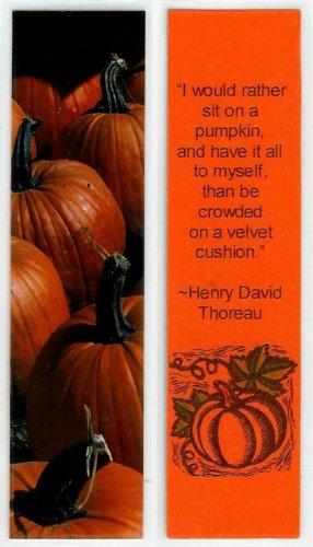 Pumpkin Photography Bookmark