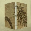 Handmade Coptic Bound Journal-Notebook-Sketchbook: Ferns