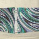 Handmade Coptic Bound Journal-Notebook-Sketchbook: Purple Swirls