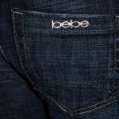 Bebe- Carmen Rhinestone Logo Jeans