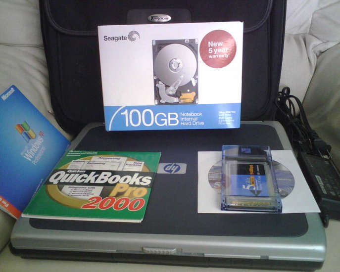 HP Pavilion ze5170 @2.0 ghz 100gb hdd 512mb/cd dvdr 4 repair!!!