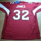 EDGERRIN JAMES #32 Red Jersey Size 56