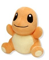 "Official Nintendo Pokemon Center 6"" Charmander Plush Toy"