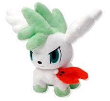 "Official Nintendo Pokemon Center 6"" Shaymin Plush Toy - Flying/Sky Form"