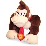 "Official Nintendo Japan 10"" Donkey Kong Plush"