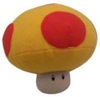 """Nintendo: Popco 6"""" Super Mario Plush Series 1 - Mushroom"""