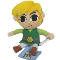 "8"" Zelda Phantom Hourglass Link Plush"