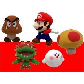 "Nintendo: Popco 6"" Plush Assortment Series 1 (Box of 5)"