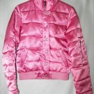 Juicy Couture Puffy Pink  Down Jacket VIVA La JUICY! SZ M