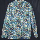 men's casual long-sleeve button-down shirt: sunbursts