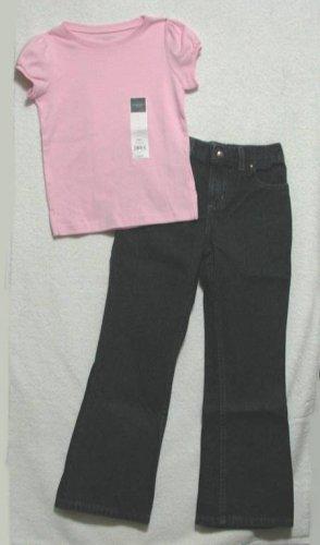 Girls 2PC BTS Jeans Set, SONOMA, Sz. 6X - 6X Slim NWT!!