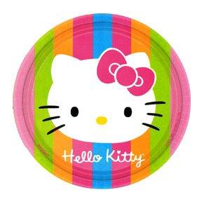 HELLO KITTY DESSERT PLATE (7IN.)
