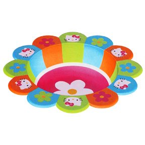 HELLO KITTY PLASTIC 10IN. BOWL