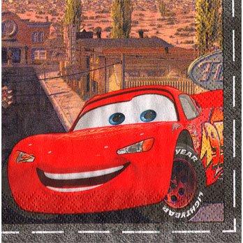 DISNEY CARS BEVERAGE NAPKIN