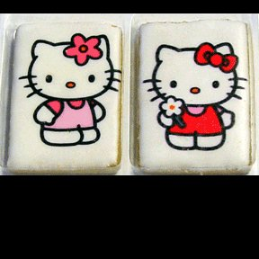 HELLO KITTY PHOTO COOKIE FAVORS (2CT)