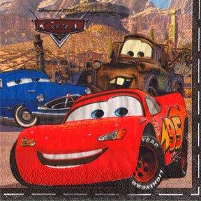 DISNEY CARS LUNCHEON NAPKIN