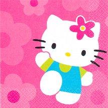 HELLO KITTY FLOWER FUN LUNCHEON NAPKIN