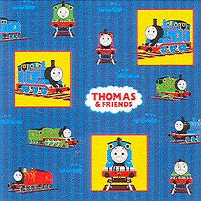 THOMAS CHUGGING YOUR WAY GIFT WRAP ROLL