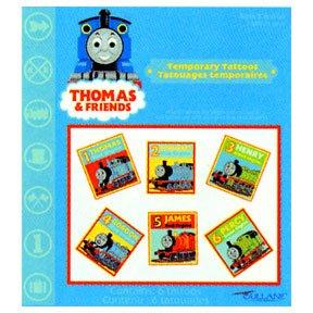 THOMAS THE TANK TEMPORARY TATTOO