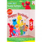 SESAME STREET HAPPY BDAY SCENE ADD ON