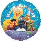SESAME STREET GROUP MYLAR BALLOON
