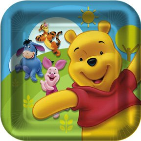 POOH & FRIENDS DINNER PLATE (9IN.)