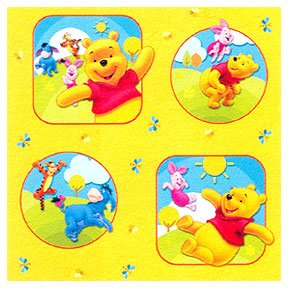 POOH & FRIENDS GIFT WRAP ROLL