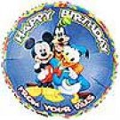 DISNEY GANG BIRTHDAY MYLAR BALLOON