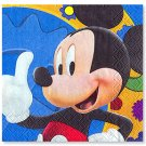 MICKEY'S CLUBHOUSE BEVERAGE NAPKIN