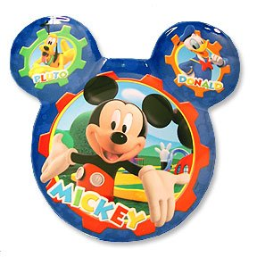MICKEY'S CLUBHOUSE HEAD SHAPED PLATE