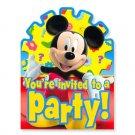 MICKEY'S CLUBHOUSE INVITATION