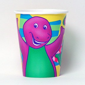 BARNEY HOT/COLD CUP (9OZ.)