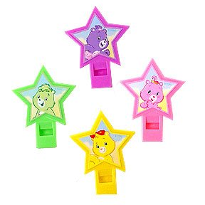 CARE BEARS HAPPY DAY WHISTLE FAVORS
