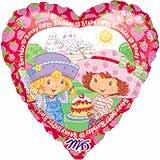STRAWBERRY SHORTCAKE HEART MYLAR