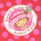 STRAWBERRY SHORTCAKE LUNCHEON NAPKIN