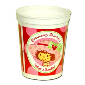 STRAWBERRY SHORTCAKE SOUVENIR CUP (17OZ)