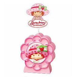 STRAWBERRY SHORTCAKE FLOWER CANDLE
