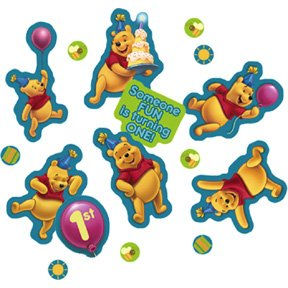 POOH'S FIRST BDAY CONFETTI