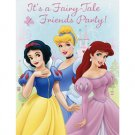DISNEY PRINCESS FTF INVITATION