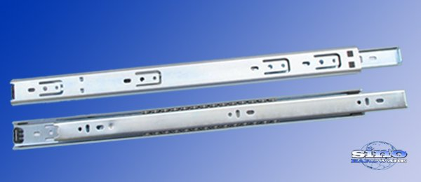 Single Extension Ball Bearing Slide & Drawer Slide-Side Mounted - SB-3510