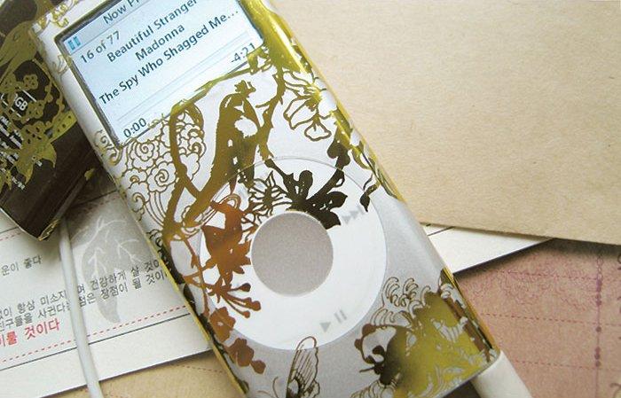 L0055 - LAMB LAMB IPOD 2nd generation skin [Oriental Gold]