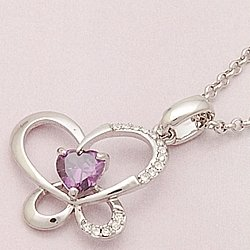 C0074 - Butterfly in your Heart Necklace