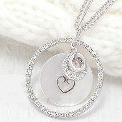 C0075 - Shiny Round Sea Shell Necklace