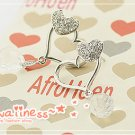 E0104 - Heart Kiss Earrings