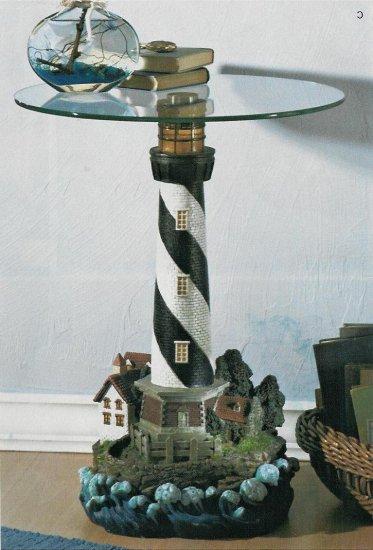 Lighthouse Table w/ Light