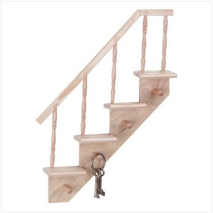 Stair Step Wall Shelf