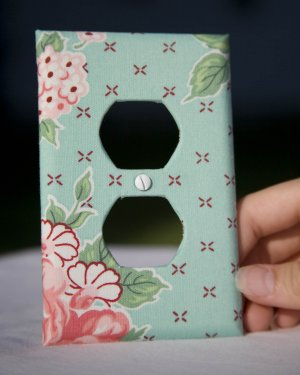 Fabricated Wall Plate Plug Cover (Quaint & Cute)