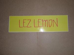 LEZ LEMON
